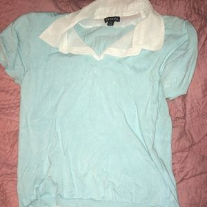 ❤️❤️8/$24❤️❤️Cute sweater vest blouse